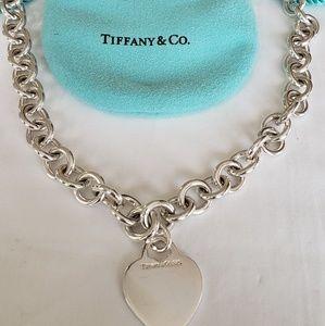 Tiffany & Co - Heart Tag Necklace